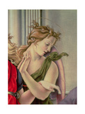 Angel, Detail from the Nativity, or Tancredi Altarpiece, in Collaboration with Bernardino Fungai… Giclee Print by  Francesco di Giorgio Martini