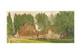 Mill on the Thames at Mapledurham, 1860 Giclee Print by George Price Boyce
