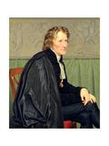 Bertel Thorvaldsen (1770-1844) Giclee Print by Christoffer-wilhelm Eckersberg