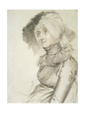 Mrs Croad, the Determined Widow, 1806 Giclee Print by John Downman