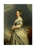 The Young Queen Victoria (1819-1901) Giclee Print by Franz Xaver Winterhalter