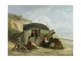 The Fisherman's Home Giclee Print by Thomas Smythe