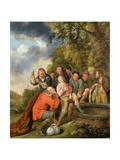 Joseph Being Cast into the Well by His Brothers Giclee Print by Jan Miense Molenaer