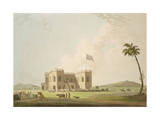 The Assembly Rooms on the Race Ground Near Madras, Plate 37 from 'Oriental Scenery: Twenty Four… Giclee Print by Thomas Daniell