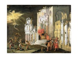 The Martyrdom of St. Catherine, 17th Century Giclee Print by Monsu Desiderio