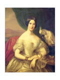 Baroness Burdett Coutts Giclee Print by Julius Jacobs