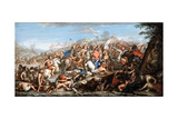 Alexander Crossing the River Granicus Giclee Print by Charles Le Brun