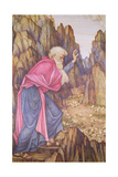 The Vision of Ezekiel Giclee Print by John Roddam Spencer Stanhope