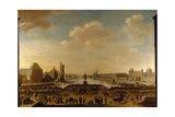 View of Paris from the Pointe De La Cite Giclee Print by Theodor Matham