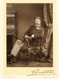 Sir Francesco Paolo Tosti (1847-1916), Song Composer, Portrait Photograph Photographic Print by Stanislaus Walery