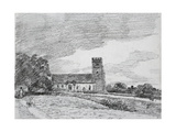 Feering Church, 1814 Giclee Print by John Constable