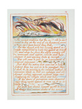 """The Ancient Tradition.., Illustration and Text from 'The Marriage of Heaven and Hell"", C.1790-3 Giclée-Druck von William Blake"