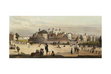 The Tower and Mint, from Great Tower Hill, from 'London as it Is', Engraved and Pub. by the… Giclee Print by Thomas Shotter Boys