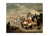 A Hallow Fair Scene Giclee Print by Walter Geikie