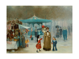 The Fairground Giclee Print by Henry Jones Thaddeus