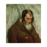 The Old Jew, 1893 Giclee Print by Alexej Von Jawlensky