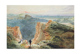 Salisbury Crags, Edinburgh Giclee Print by William Bell Scott