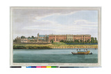 Hampton Court, Engraved by J.C. Stadler (Fl.1780-1812) from Havell's 'History of the Thames', 1793 Giclee Print by Joseph Farington
