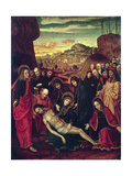 Lamentation of the Dead Christ Giclee Print by Ambrogio Borgognone