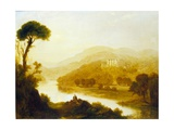 Abbotsford, the Home of Sir Walter Scott, 1828 Giclee Print by John Thomson