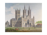 Lincoln Cathedral from the West Giclee Print by Joseph Baker