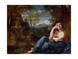 Mary Magdalene in a Landscape, C.1599 Giclee Print by Annibale Carracci