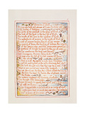 Proverbs of Hell, Text from 'The Marriage of Heaven and Hell', C.1790-3 Giclee Print by William Blake