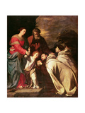 The Adoration Giclee Print by Jusepe de Ribera