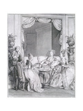 Have No Fear, My Good Friend, Engraved by I.S. Helman (1743-1809) Giclee Print by Jean Michel the Younger Moreau