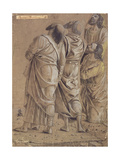 Group of Apostles from the Ascension of Christ, C.1506 Giclee Print by Andrea Mantegna