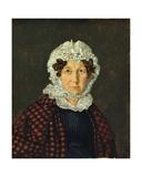 Maria Christine Hubbe, 1830 Giclee Print by Carl Julius Milde