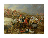 The Battle Between the Amazons and the Greeks Giclee Print by Pauwel Casteels