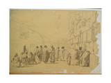 The Wailing Wall Giclee Print by Carl Haag