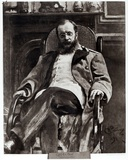 Portrait of Cesar Cui (1835-1918) 1890 Photographic Print by Ilya Efimovich Repin