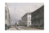 Pall Mall: Club Houses, 1842 Giclee Print by Thomas Shotter Boys