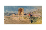 The Valley and Lower Pool of Gihon, Jerusalem, 1859 Giclee Print by Carl Haag