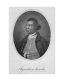 Ignatius Sancho (1729-80) Engraved by Francesco Bartolozzi (1725-1815), Published 1781 Giclee Print by Thomas Gainsborough