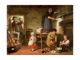 The Dismayed Artist, 1866 Giclee Print by Frederick Daniel Hardy