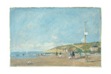 A Seashore Giclee Print by Eugène Boudin
