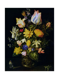 Vase of Flowers Giclee Print by Jan Brueghel the Elder