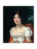 Portrait of a Lady in an Empire Dress Giclee Print by Francois Pascal Simon, Baron Gerard