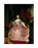 Empress Maria-Theresa (1717-80) 1744 Giclee Print by Martin II Mytens or Meytens