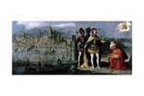 Capture of Seville by Ferdinand III (C.1201-52), C.1625-35 Giclee Print by Francisco Pacheco