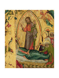 The Dormition, from the Left Wing of the Buxtehude Altar, 1400-10 Giclee Print by  Master Bertram of Minden