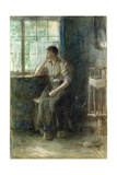 Woman at the Window Giclee Print by Jozef Israels
