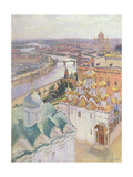 View of Moscow from the Bell Tower of Ivan the Great, 1896 Giclee Print by Nikolai Nikolaevich Gritsenko