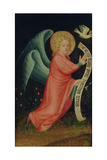 The Angel of the Annunciation, from the Harvester Altar, C.1410 Giclee Print by  Master Bertram of Minden