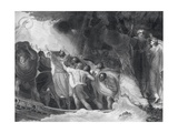 The Tempest, Act I, Scene I, Engraved by B. Smith, 1797 Giclee Print by George Romney