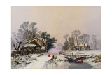 Winter Giclee Print by George Baxter