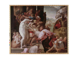 The Rape of Helen, C.1533 Giclee Print by Francesco Primaticcio